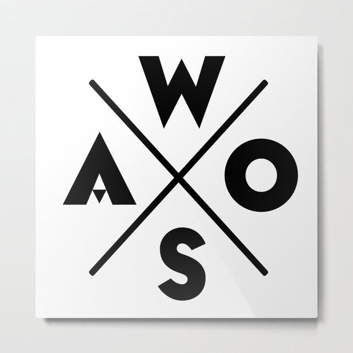 WOSA - World of Street Art Metal Print