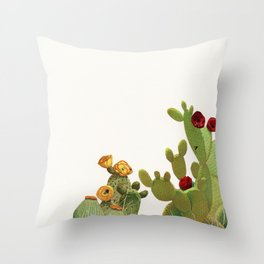 Cactus Garden II Throw Pillow