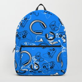 Gamers-Blue Backpack