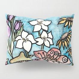 Le Petit Jardin Pillow Sham