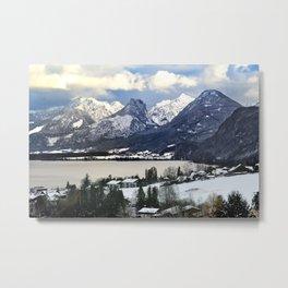 Lake Wolfgang, Austria. Metal Print