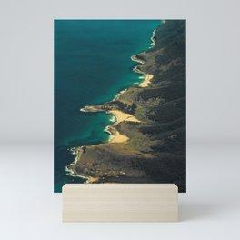 Coast San Salvador Mini Art Print