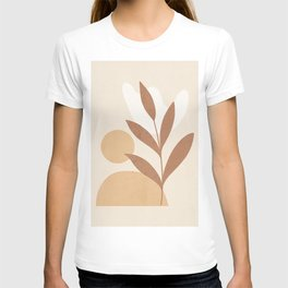 Abstract Minimal -Plant 12 T-shirt