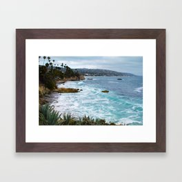 Laguna Beach Framed Art Print