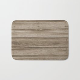 Natural Wood Bath Mat