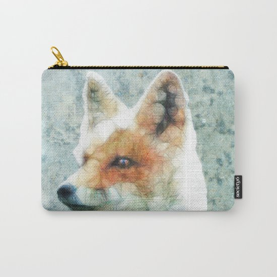 abstract fox Carry-All Pouch