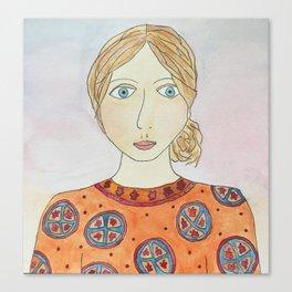 Emiline Canvas Print