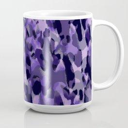 purple leopard in layers Coffee Mug