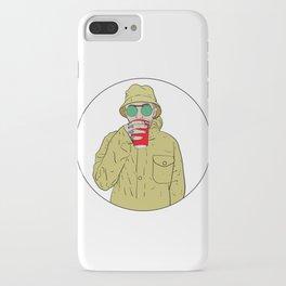 """Mac Miller R.I.P """"Juice"""" iPhone Case"""
