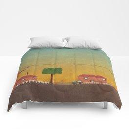 Hometown Scene Comforters