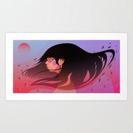 Left at Dusk Art Print