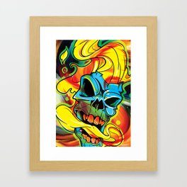 Like Ghost Framed Art Print
