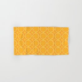Yellow flowers Hand & Bath Towel