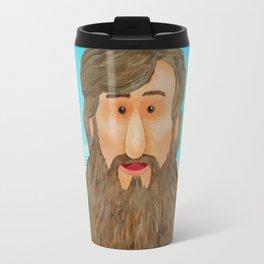 Jim's Amazing Beard Travel Mug