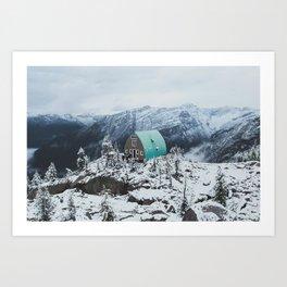 Conrad Kain Hut Art Print