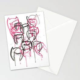 Battle Batgirl Stationery Cards