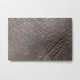Elephant Skin Metal Print