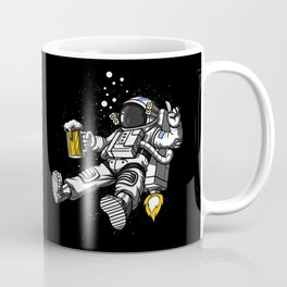 Astronaut Drinking Beer Space Party Coffee Mug
