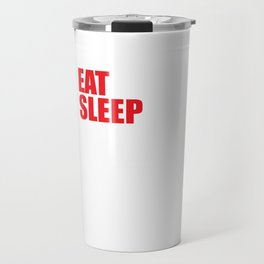 Eat Sleep Crossword Puzzle Repeat Puzzler Brain Teaser Thinking Strategy Game Gift Travel Mug