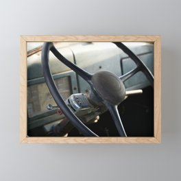 Farm Truck Framed Mini Art Print