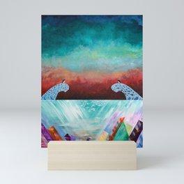 The Janus Penguins Mini Art Print