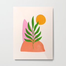Autumn Bloom II Metal Print