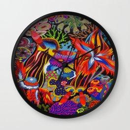 """Friends"" Nudibranch I Wall Clock"