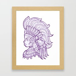 Mictecacihuatl - Lady of the Dead Framed Art Print
