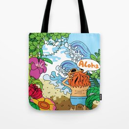 Lost in tropic island Tote Bag