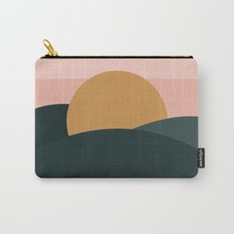 Minimal Sunset Carry-All Pouch