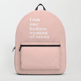 I am a badass woman Backpack
