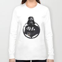 darth vader Long Sleeve T-shirts featuring Darth Vader by Yvan Quinet