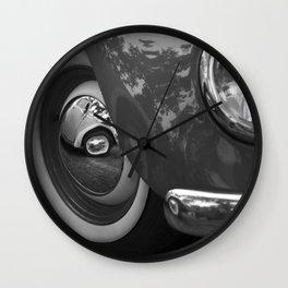 Vintage car. Wall Clock