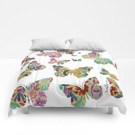 otomi butterflies Comforters
