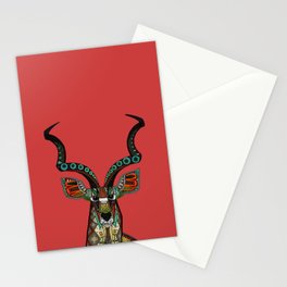 antelope red Stationery Cards