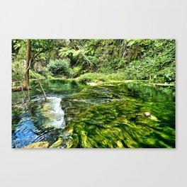 Waterfall in Vanuatu (alternate) Canvas Print