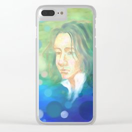 The Bravest Man Clear iPhone Case