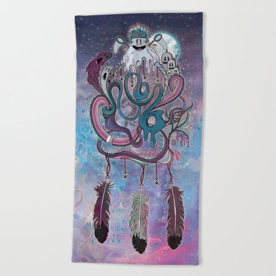 The Dream Catcher Beach Towel