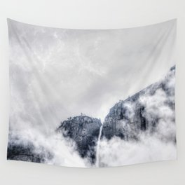 Fog and clouds Wall Tapestry