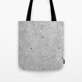 Gray Shine Texture Tote Bag