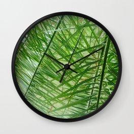 Green World Wall Clock