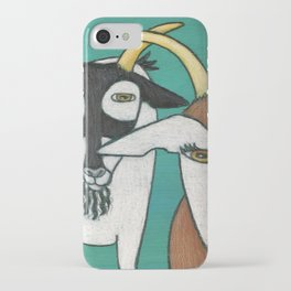 Two Goats iPhone Case