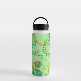 Concentric Green Water Bottle