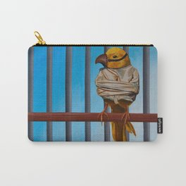I Know Why The Caged Bird Doesn't Sing Carry-All Pouch