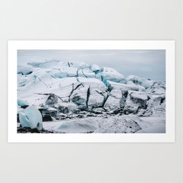 Glacial World of Iceland - Landscape Photography Art Print