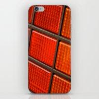 delorean iPhone & iPod Skins featuring DeLorean DMC-12 by Matthew Clark