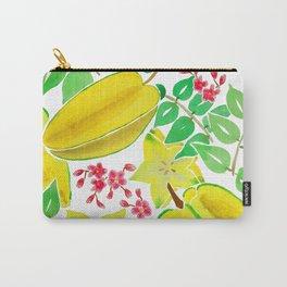 Starfruit Season Carry-All Pouch