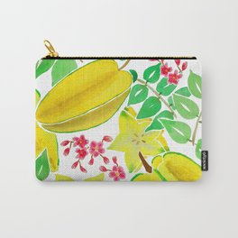 Starfruit Season Carry-All Pouch