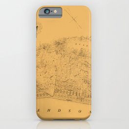 Map of Sausalito 1868 iPhone Case