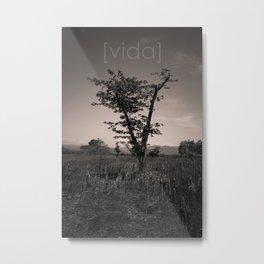 [vida] Metal Print